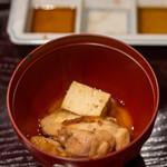 鳥田中 - 2020.10 七谷地鶏のすき焼き