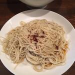 麺道はなもこし - 赤玉 (*´-`)