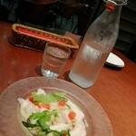 ブッチャー・リパブリック 横浜赤レンガ シカゴピザ&ビア - 本日の魚のカルパッチョ 柚子ビネグレット ¥950