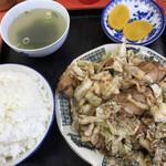 小笹飯店 - 焼肉定食=700円 税込