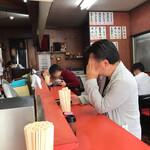 小笹飯店 - 店内をパシャ 平日の11時20分