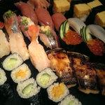 新橋 蛇の目寿司 - 蛇の目寿司 盛り合わせ