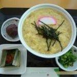 笹原 - 卵とじうどん