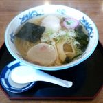 そば長 - 塩ラーメン(600円)