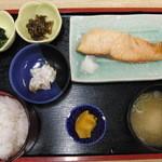そば食事処 露風庵 - 焼魚定食(時しらず)