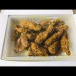 鳥一番フードサービス - 料理写真:努努鶏(手羽中・骨付)=1080円 税込