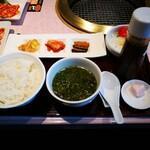 焼肉 徳寿 - セット