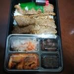 焼肉 徳寿 - 料理写真:和牛上カルビ弁当