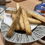 炉端と串カツ テツオ - 長芋フライ
