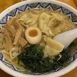 中国ラーメン 揚州商人 - エビワンタン麺