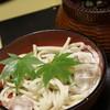 ふくます亭 - 料理写真:黒豆うどん