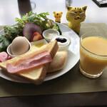 木伊 - 料理写真:モーニングセット650円(税込)