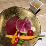 楚々 The Zen - 野菜(野菜サラダ)