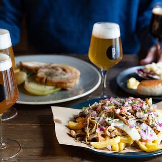 自然体で楽しむベルギービール、クラフトビールと料理