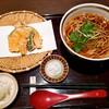久 - 料理写真:(温)昼天掛け蕎麦