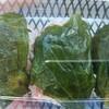 博寿し - 料理写真:黒米わさび葉寿司(590円)