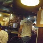 13912528 - 胴元は後ろにある冷たいお茶をゲット!JIROCK氏は真剣な表情です