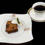 ビオハーヴェスト - BHオリジナル本日のケーキセット