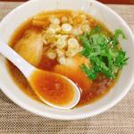 藤原製麺所 - 料理写真:煮干しLOVE醤油ラーメン(税込850円)
