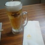 サイアムタイキュイジーヌ - 「生ビール」(580円)