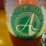 総本家更科堀井 - Hoppyビバレッジの赤坂生ビール! しっかりしたクラフトビールです♪