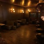 バー スターダスト - 【2020.10.7】レトロな雰囲気の店内。