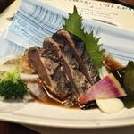 土佐料理 司 - 一本釣り鰹のたたき