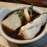 土佐料理 司 - 九絵(クエ)鍋(・天然活〆真クエ・野菜盛合せ・豆腐)