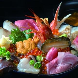 お魚いちば おかせい - 料理写真:特選女川丼