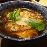 Kandakatsumoto - 特製清湯つけそばのつけ汁