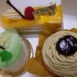 マ・メール アンジュ - アンジュのケーキ達01