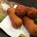 九州の地魚料理 侍 - 自家製さつまあげ!揚げたて!580円!