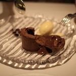 ル ジャルダン グルマン - デザート チョコレートのビスキュイ