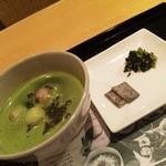 田頭茶舗 - 抹茶ぜんざい