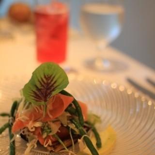 ル ジャルダン グルマン - 料理写真:自家菜園の野菜を使った一皿