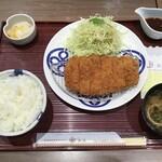 とんかつ まい泉 - ロースカツ膳1243円