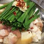 九州の地魚料理 侍 - もつ鍋二人前!味噌味にて!