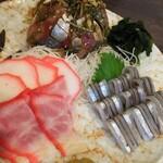 九州の地魚料理 侍 - お刺身盛り合わせ店長まかせ