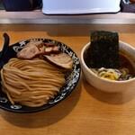 麺屋 たけ井 - つけ麺 薫製チャーシュー トッピング