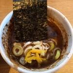 麺屋 たけ井 - つけ汁アップ