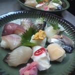 ひらまつ食堂 - おまかせ寿司