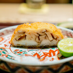 銀座ふじやま - 鱧と松茸 塩 山椒醤油