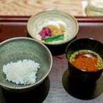 銀座ふじやま - お食事
