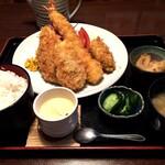 小名浜 - 海鮮フライ御膳