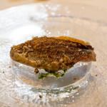 ウシマル - 2020.10 銚子の朝獲れ黒ムツ 自家菜園のハーブがベースの野菜ソースで