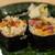 うを徳 - 料理写真:2020.10 太巻き(大トロ炙り、うに、いくら、鯖、搾菜)