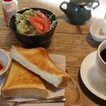 TeaRoom abi - 料理写真:モーニングセット