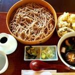そば亭山彼方 - 料理写真:鴨せいろ(1,200円)
