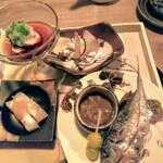 かんじ - 料理写真:前菜盛合せ