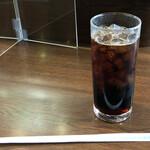 BECK'S COFFEE SHOP - 水出しアイスコーヒーM300円。